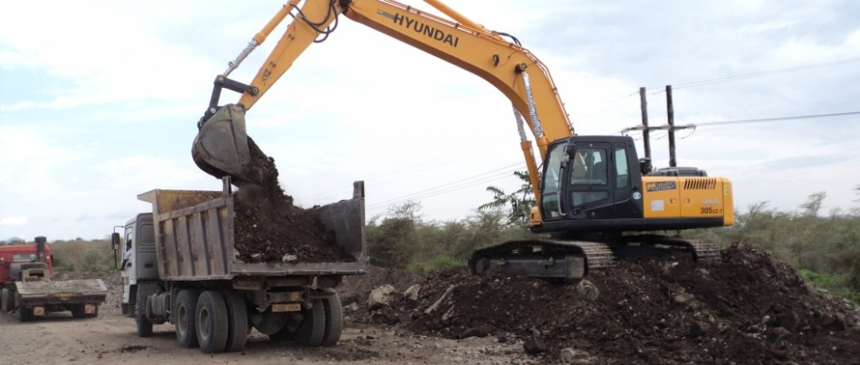 Excavating and Loading
